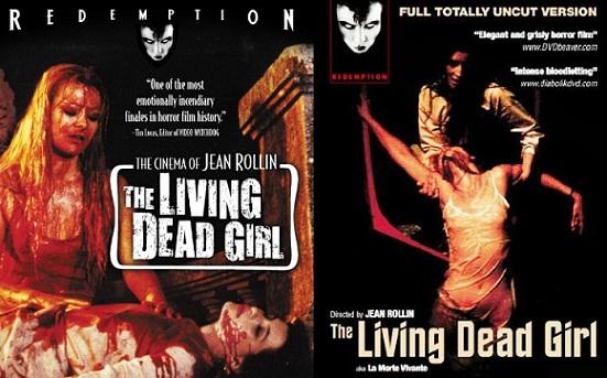 The Living Dead Girl 1982 Poster