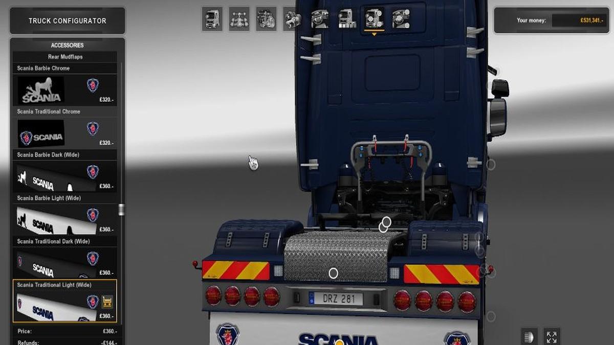 Scania Mudflap Pack [V1.4]