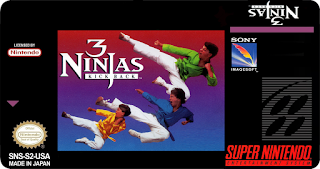 3 Ninjas Kick Back (BR) [ SNES ]