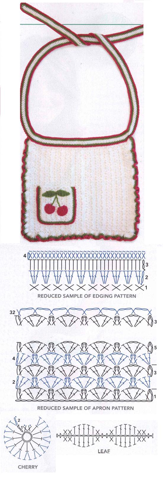 Patron Crochet Delantal \