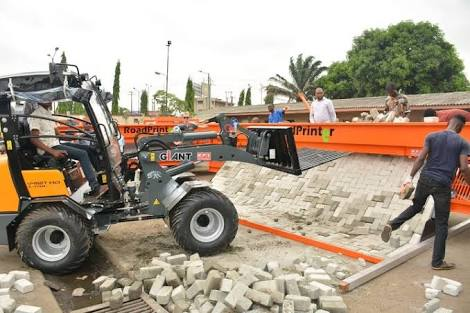Lagos Government Acquires Machines To Construct Roads