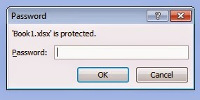 Method of Password Protection in Microsoft Excel
