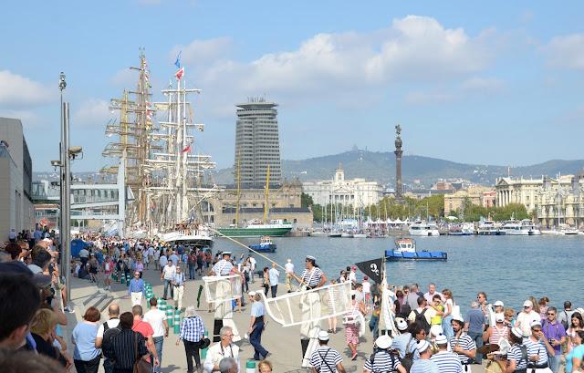 Escale à Barcelone, fête de la culture maritime