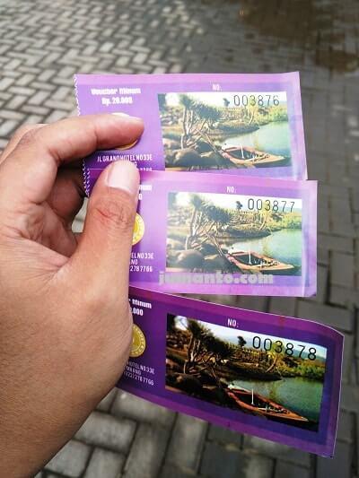 biaya masuk floating market lembang