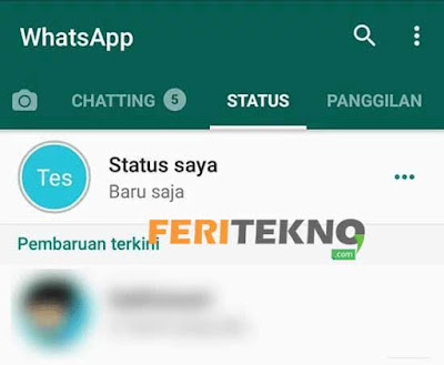 Cara Hide Story WhatsApp 6