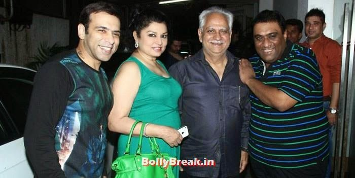 Farhad, Kiran Juneja, Ramesh Sippy, Sajid, 'It's Entertainment' Movie Special Screening Pics