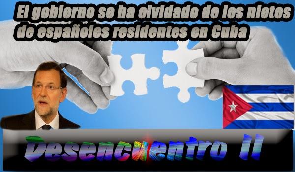 Rajoy se olvidó de los nietos de españoles en Cuba