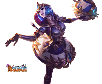 LEAGUE OF RENDERS: RENDER SKIN VICTORIOUS ORIANNA