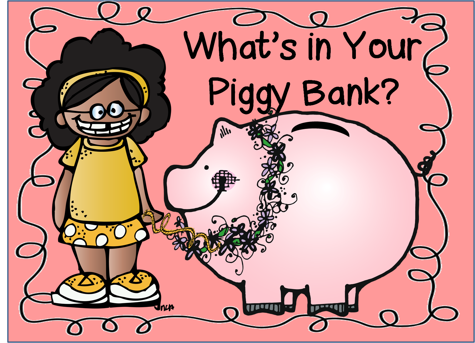 First Grade Wow What S In Your Piggy Bank