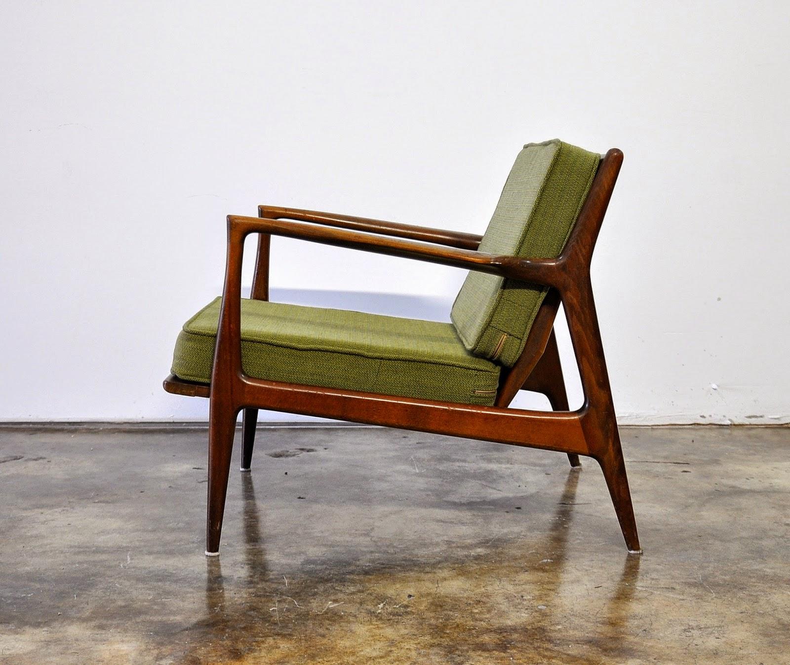 SELECT MODERN Ib KofodLarsen Lounge or Easy Chair