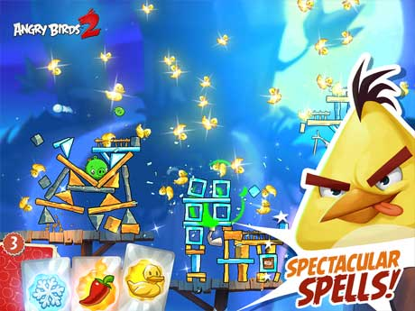 Game Burung Terbang Angry Birds 2 Mod Apk