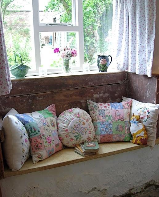 almofadas vintage