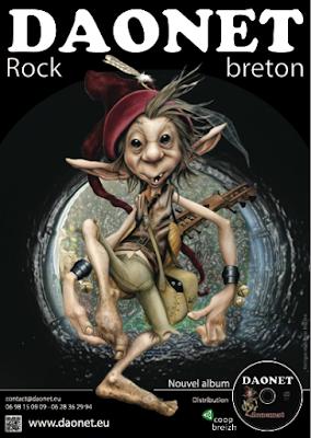 Affiche des concerts de Daonet de 2012 à 2014