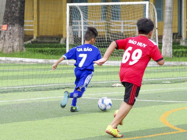 Dạy học bóng đá cho thiếu nhi tại quận Gò Vấp TPHCM