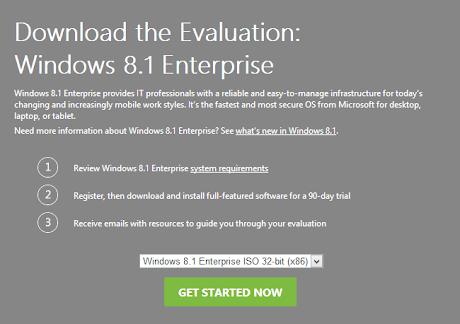 Download Windows 8.1 Enterprise