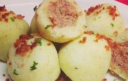 Bulvių kukuliai su mėsa
