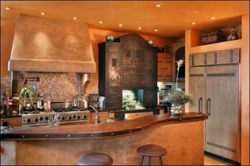 Key interiors by shinay southwestern kitchen ideas for Kitchen design 7 x 9