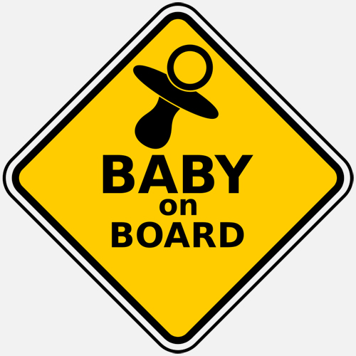 "Some Dubai Drivers Invalidate ""Baby on Board"" Car Signs"