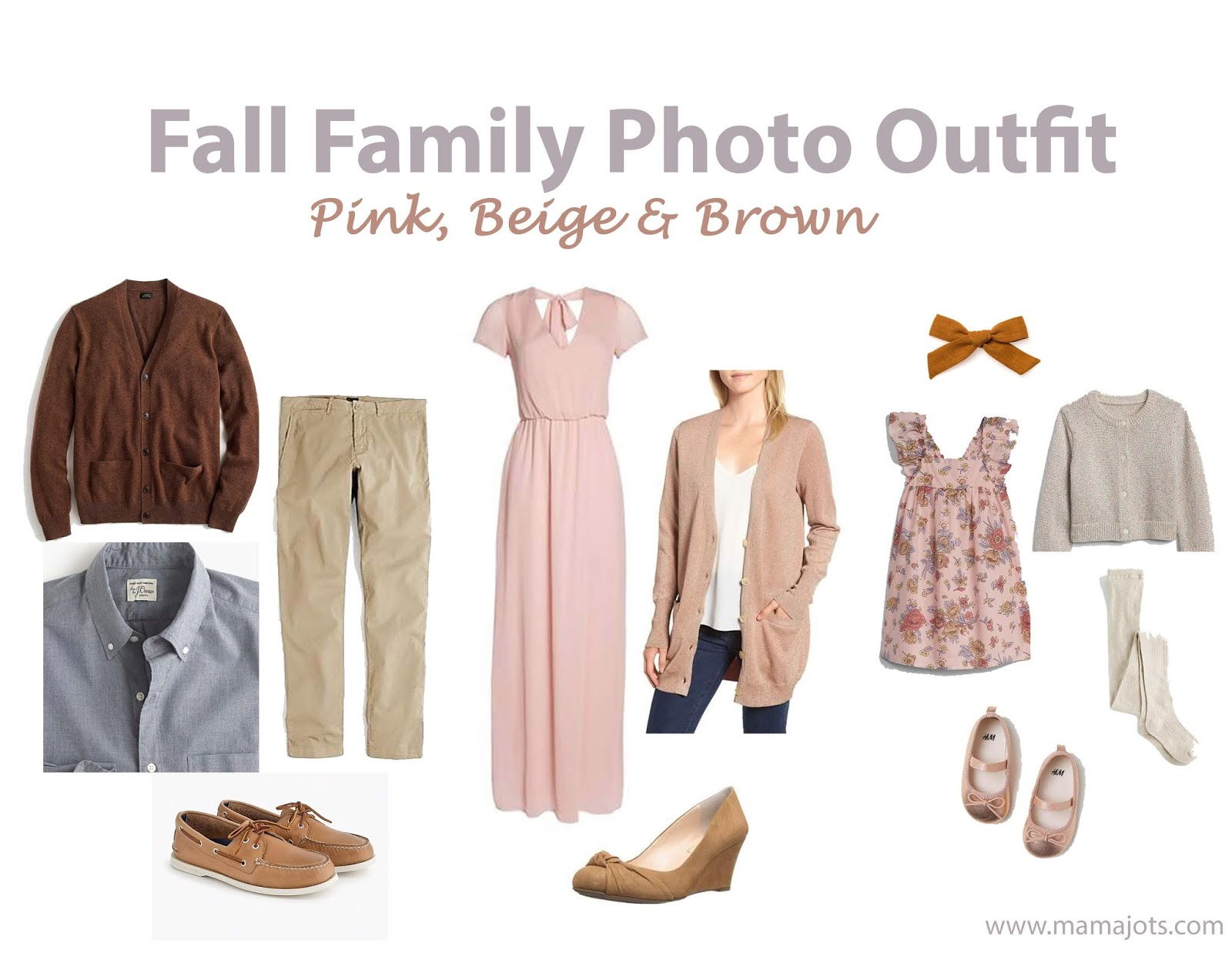 fall family photo outfit