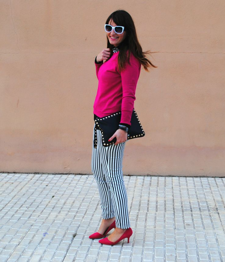 Stripes/pink