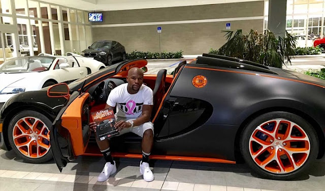 Mayweather Splashes $3.7 Million For The 2016 Bugatti Chiron