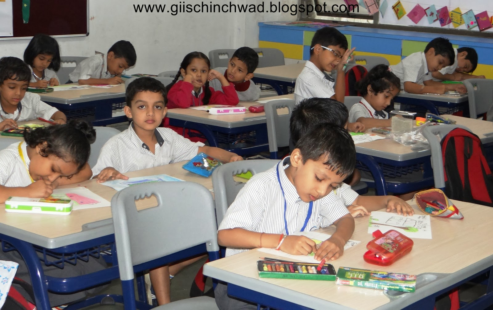 Drawing and Poster Making Competition at GIIS Chinchwad