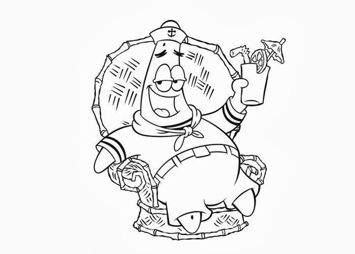 Patrick marine coloring pages free coloring pages and for Marine coloring pages