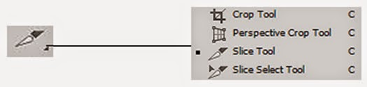 Crop Tool, Perspective Crop Tool,Slice Tool and Slice Select Tool (C)