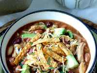 BBQ Chicken Chili Recipe (Slow Cooker or Stovetop)