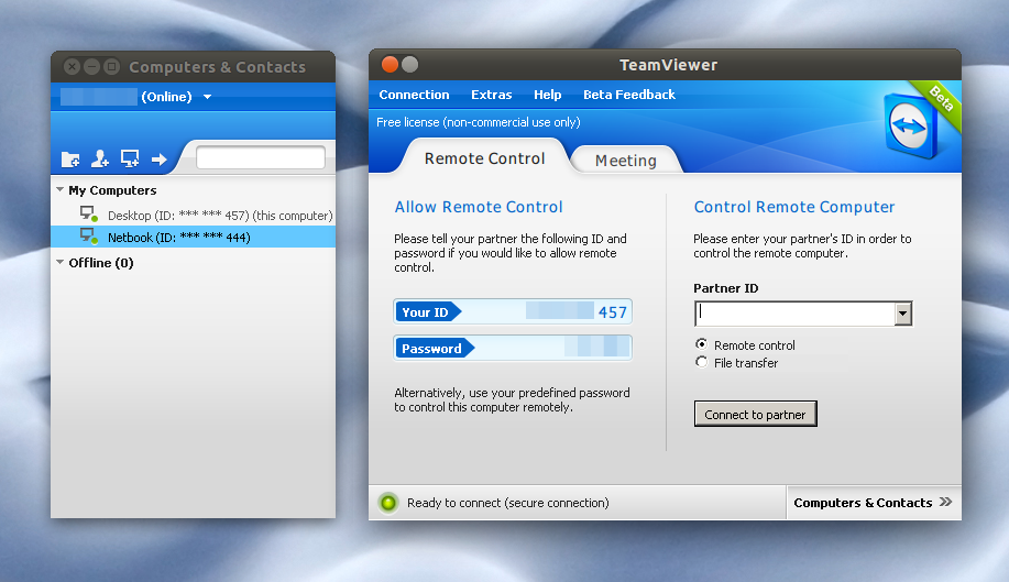 TeamViewer 7 Beta Available For Linux [Remote Desktop Tool