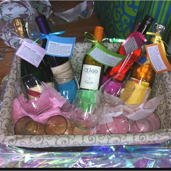 Gift Basket For Bride And Groom Wedding Night: Cameron Chronicles: Cute Bridal Ideas From Pinterest
