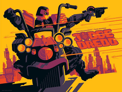 Judge Dredd Variant Screen Print by Tom Whalen & Vice Press