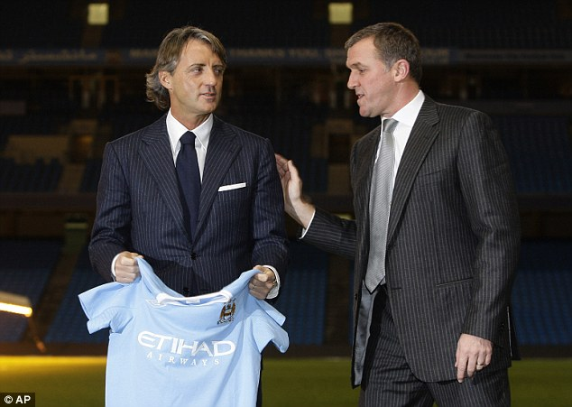 Man City 'Secretly Paid Mancini Over Double His Contracted Wage'