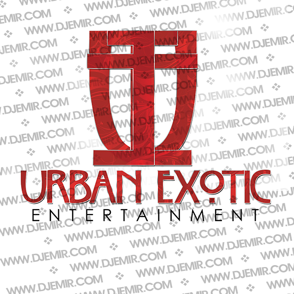 Urban Exotic Entertainment Logo Design Version 2