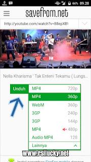Tutorial Download Video Youtube Di HP