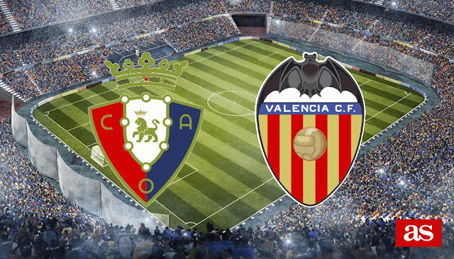 On REPLAYMATCHES you can watch VALENCIA VS OSASUNA, free VALENCIA VS OSASUNA full match,replay VALENCIA VS OSASUNA video online, replay VALENCIA VS OSASUNA stream, online VALENCIA VS OSASUNA stream, VALENCIA VS OSASUNA full match,VALENCIA VS OSASUNA Highlights.