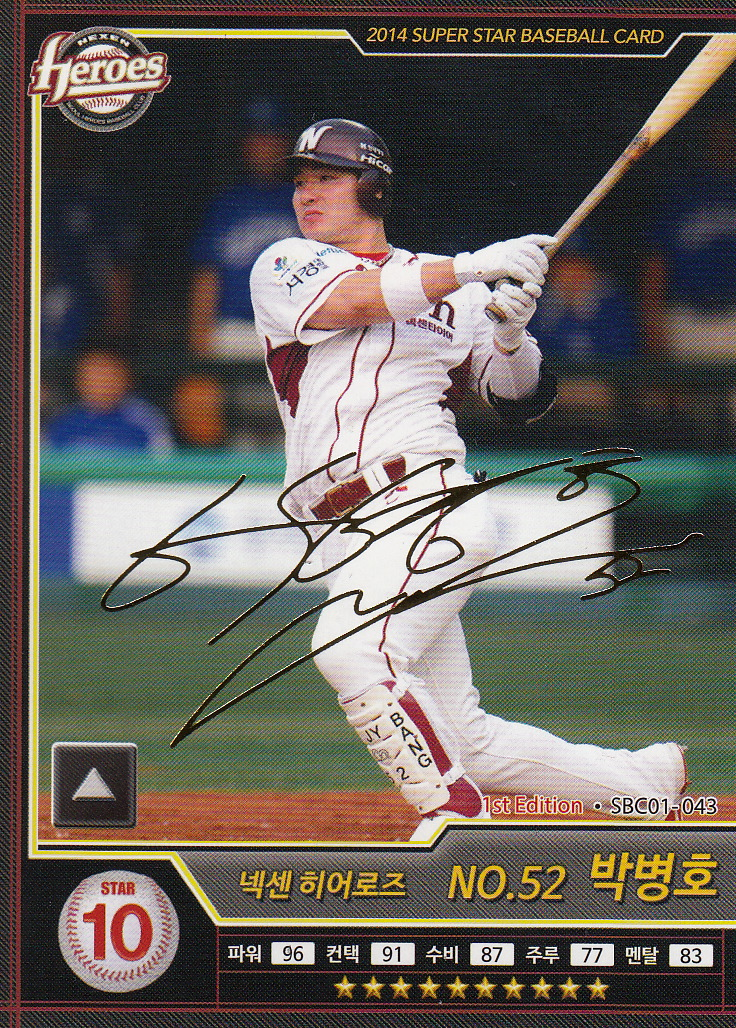 the best attitude 0dc1d c4ee7 Japanese Baseball Cards: Byung-Ho Park of the Minnesota Twins