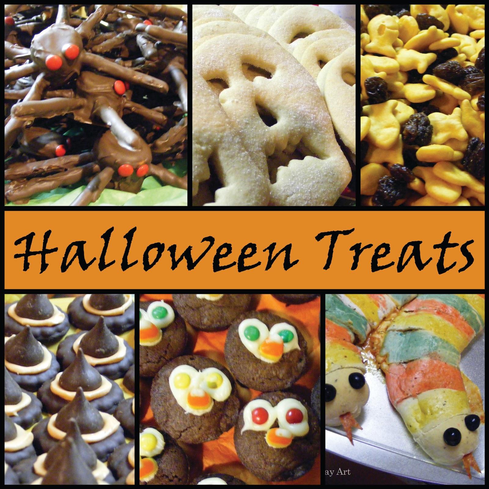 Everyday Art: Halloween Treats