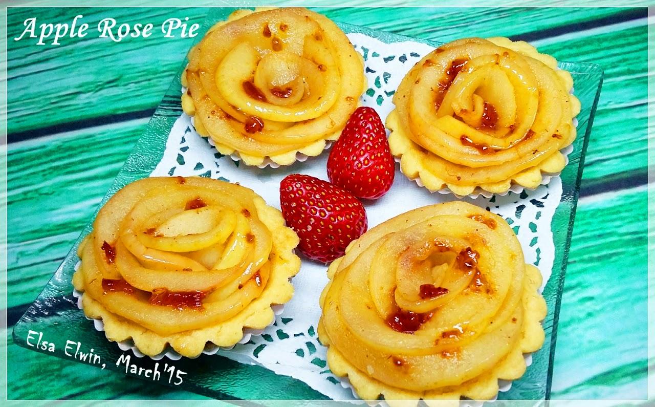 Resep Kue Pie Jepang: Resep Masakan & Kue: Resep Cara Membuat Apple Rose Pie