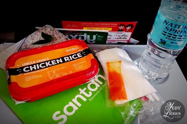 Uncle Chin's Chicken Rice, AirAsia Santan New In-flight Menu, AirAsia Santan Menu Launch at Amorita Resort Panglao Bohol, Airsia Airline Meal Food Blog Review,  Philippines Airline Meal Review, Amorita Resort Panglao Bohol, YedyLicious Manila Food Blog,