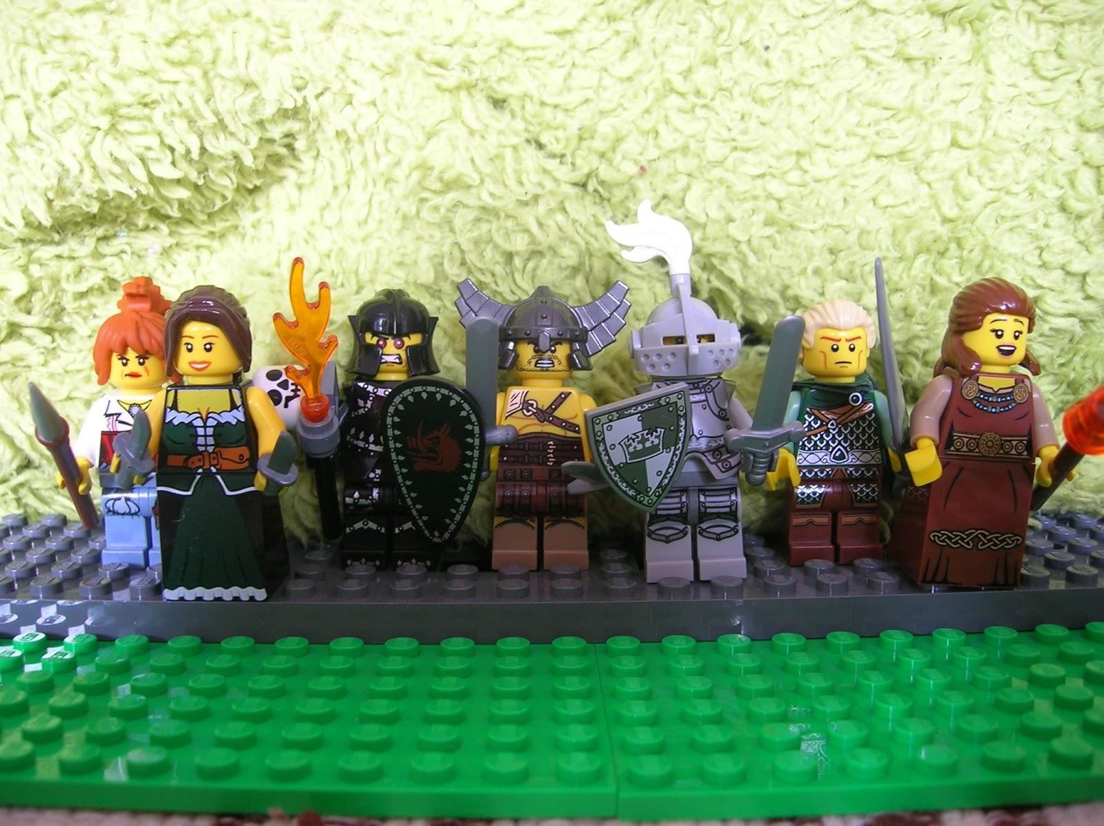 Moje Klocki Lego Odc1 Wybierz Klasę Postaci