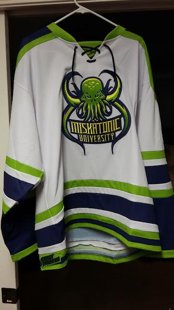 A Cthulhu  Miskatonic University hockey jersey c62ad6269d8