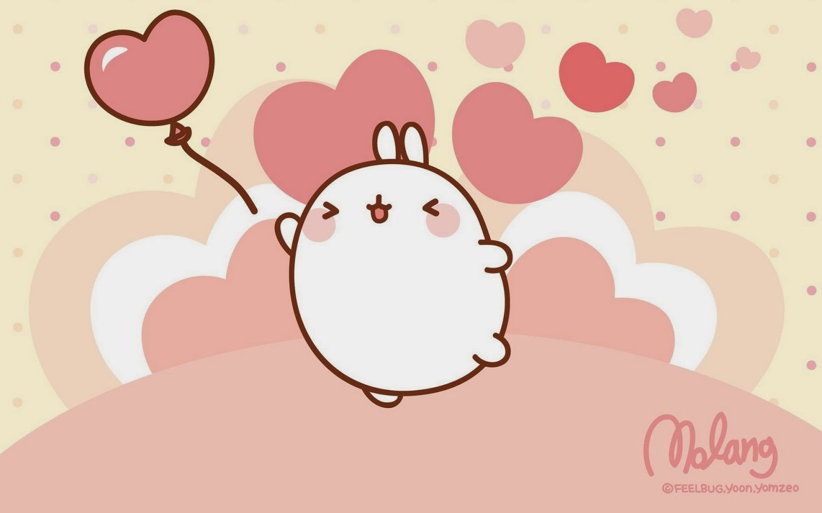 Download Molang Desktop Wallpaper