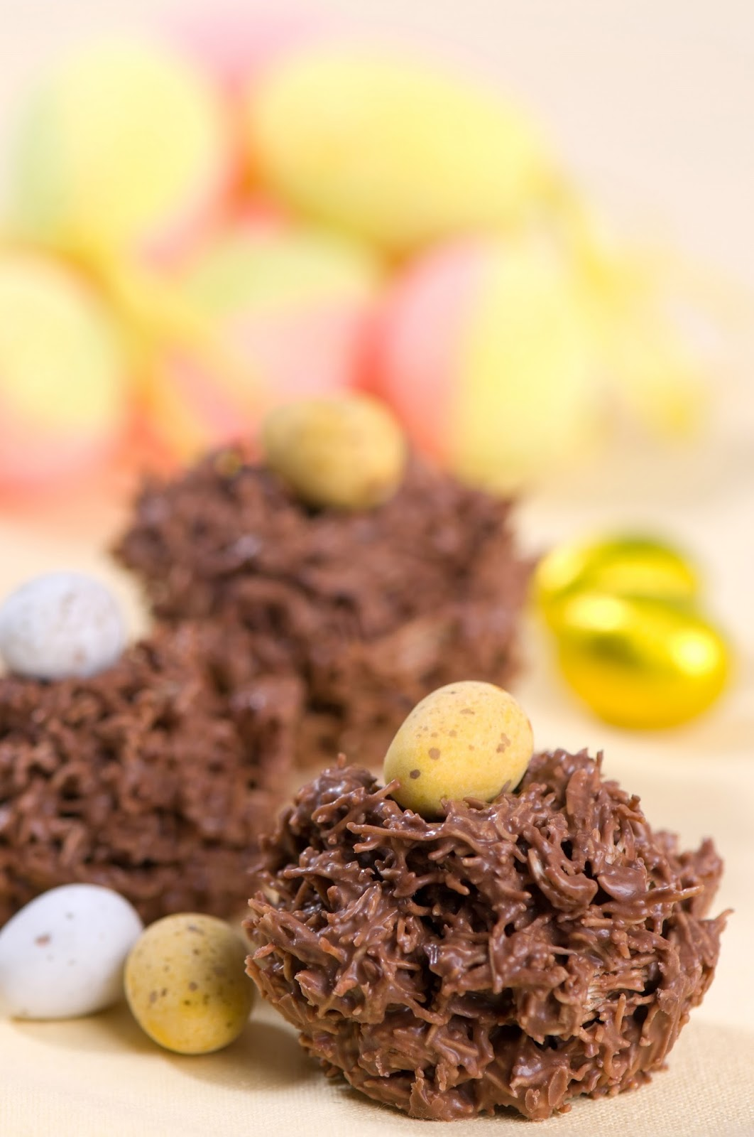 How To Make Delamere Easter Chocolate Nests