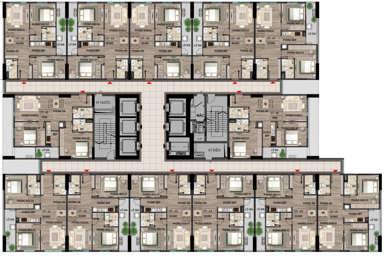 Dự án đầu tư chung cư nhà ở xã hội cho cán bộ chiến sĩ Bộ Công An