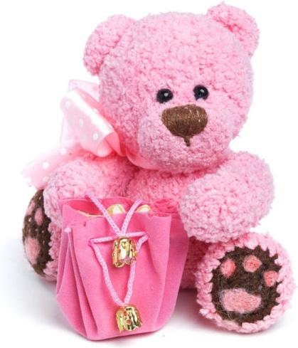 Cute Pink Teddy Bear Photo for Whatsapp DP
