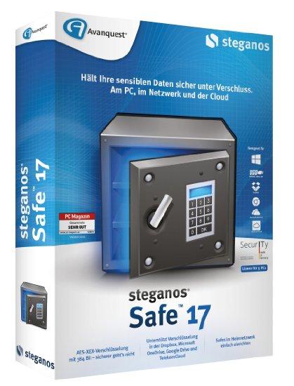 Steganos Safe 17.1.1 Revision 11605