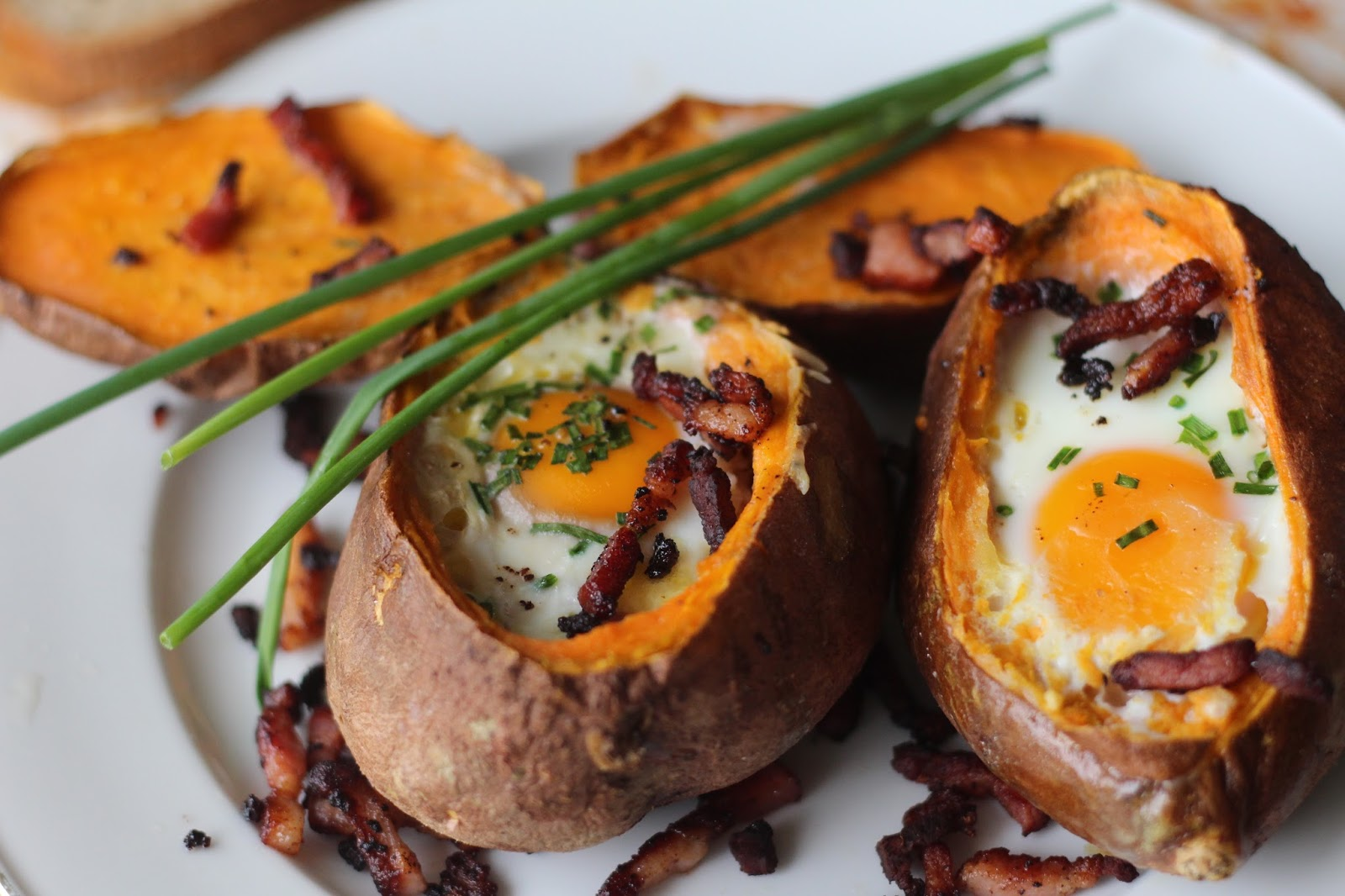 Diary of a Mad Hausfrau: Breakfast Sweet Potatoes: Eggs ...