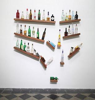 Estantería original para bebidas