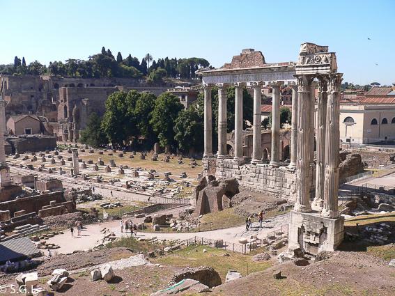 Roma. Foro romano y el Palatino